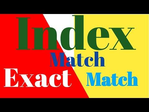 Index match exact match || index match exact excel || index match multiple criteria
