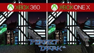 Perfect Dark Comparison - Xbox 360 vs. Xbox One X