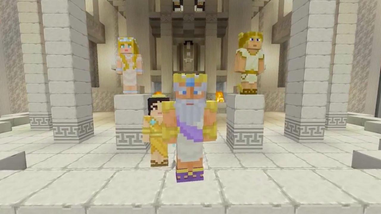 Minecraft - Greek Mythology Mash-Up Pack Official Trailer