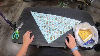 How I Make My Dog Bandanas | No Sewing