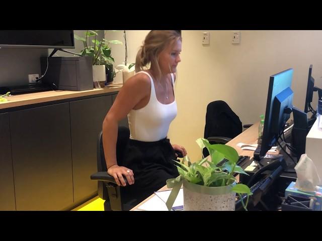 Daily Desk Strength Exercises