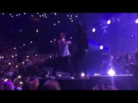 Justin Timberlake & Jay Z - Holy Grail - live - Barclays Center 12/14/14