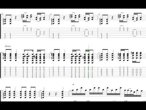 グッド・タイムズ・バッド・タイムズ レッド・ツェッペリン ギター リフ Tab譜  Led Zeppelin Guitar Riffs Good Times Bad Times