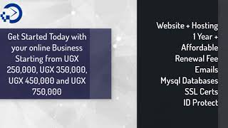 wilka Website Hosting and Design Packages for Uganda