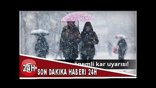 7 Mart Güncel Hava Durumu İstanbul-Ankara-İzmir | Meteorolojiden önemli kar uyarısı