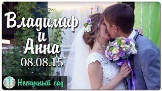 Свадьба Владимира и Анны 08.08.2015