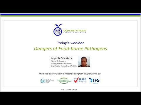 Dangers of Food-borne Pathogens