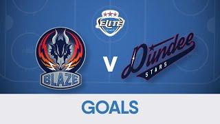 Goals & Reaction: Coventry Blaze 3-2 Dundee Stars (080320)