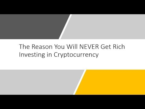 can you become rich by investing in cryptocurrencies