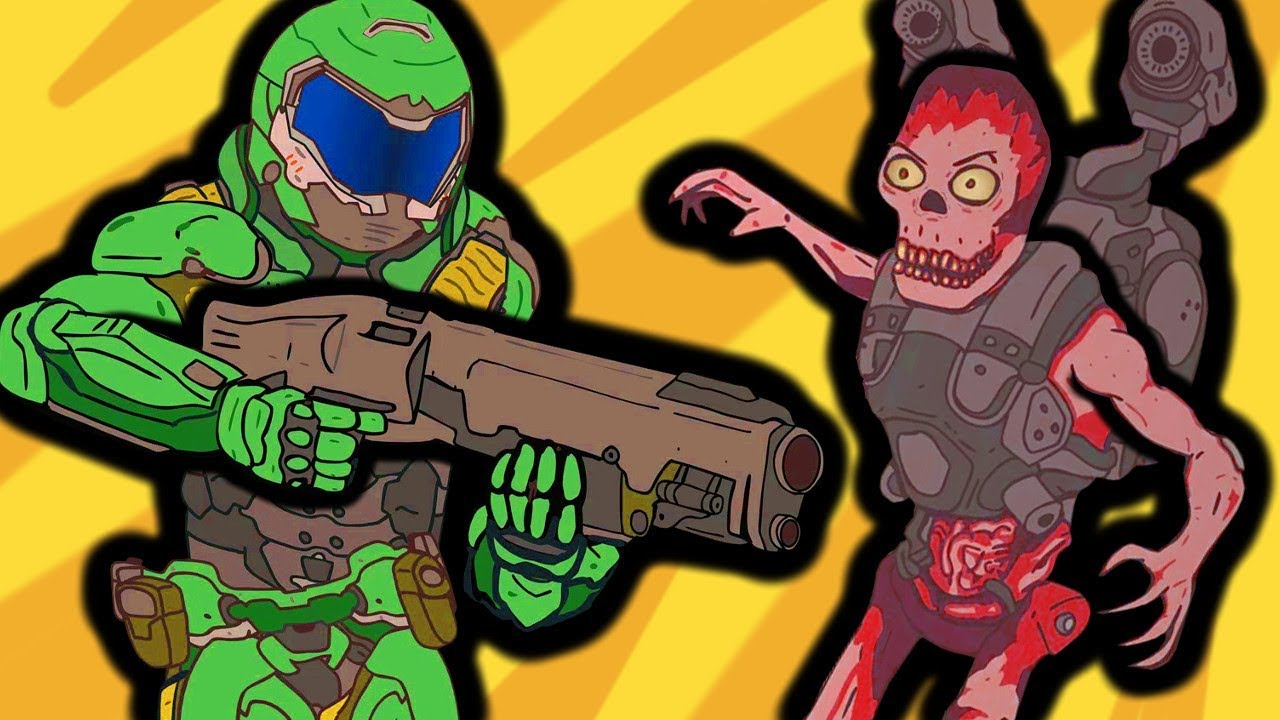 If Doom Was Realistic Funny Animation
