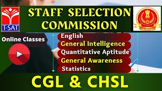 T-SAT || Staff Selection Commission - CGL/CHSL ||  07.03.2021