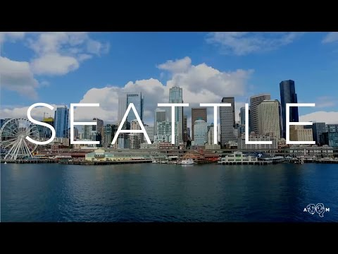SEATTLE - Travel Video Montage   Airplane Mode