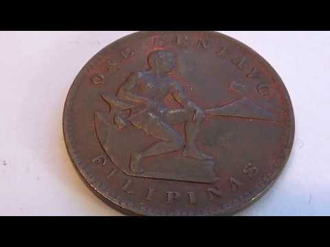 A 1921 Rare Filipinas Coin