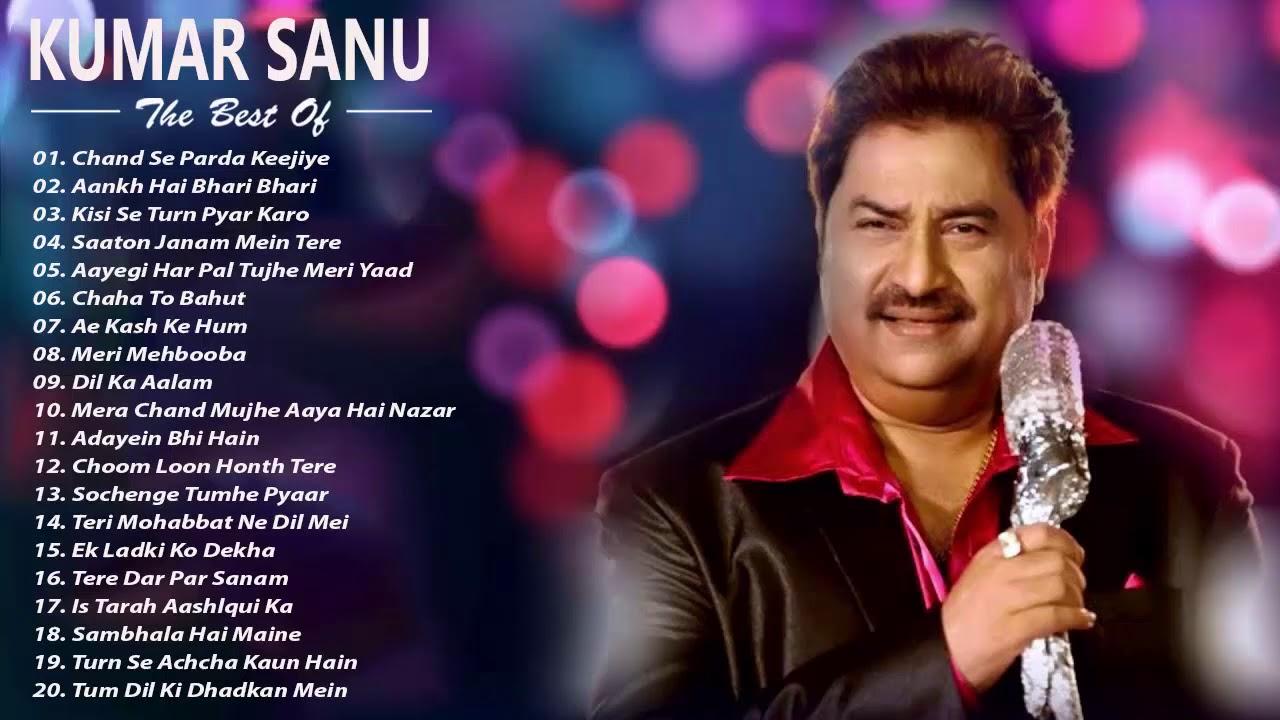Kumar Sanu Hit Songs  Best Of Kumar Sanu Playlist 2019  Evergreen Unforgettable Melodies