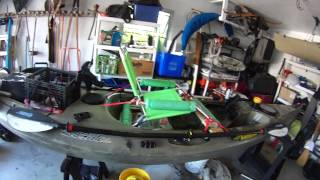 Kayak Seat Upgrade / Fishing Vid