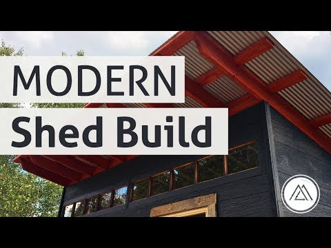 Building A Modern Shed