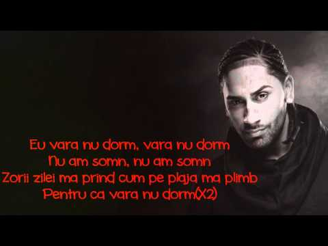 Connect-R - Vara Nu Dorm [Versuri - Lyrics] OFFICIAL