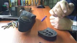 видео Ремонт обуви. Внутренняя заплатка часть1