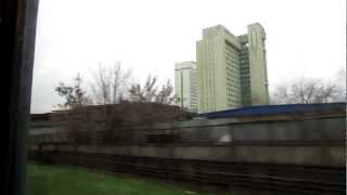 Перегон Рязанский проспект - Выхино. Метро // 20 ноября 2012