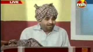 BHAGWANT MANN VS BABA RAMDEV AND FUNNY SONG ON BABA RAMDEV.flv