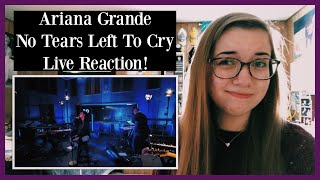 """Ariana Grande """"No Tears Left To Cry"""" Live Performance REACTION!"""