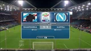 Video Gol Pertandingan Sampdoria vs Napoli