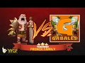 Papys Warriors vs Gabales | Tournoi FF 2 war recap CoC
