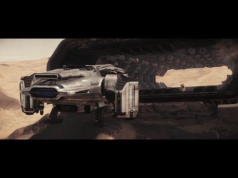 Star Citizen 3.0 ag - Javelin - New Outpost: Kudre Ore - Freelancer Bed logout - 4K Ultrawide