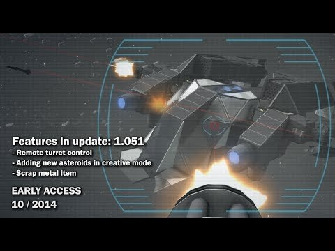 Space Engineers - Spawn Asteroids in Creative Mode - YouTube