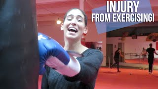 Injury From Exercising! | Lily Pebbles Weekly Vlog