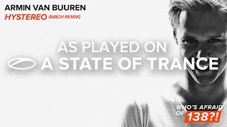 Armin van Buuren - Hystereo (Wach Remix) **TUNE OF THE WEEK** [A State Of Trance Episode 692]