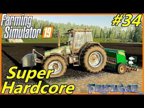 Let's Play FS19, Boulder Canyon Super Hardcore #34: Planting Grass!