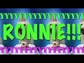 HAPPY BIRTHDAY RONNIE! - EPIC Happy Birthday Song