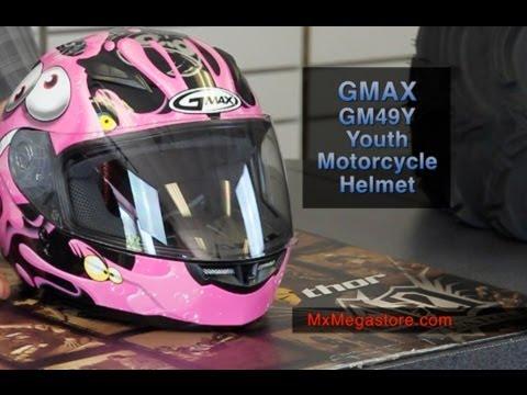 2014 GMAX GM49Y Youth Motorcycle Helmet at MxMegastore