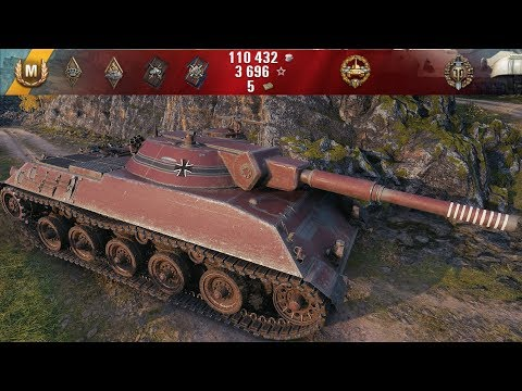 World of Tanks Bat -Chatillon 155 55 by World of Tanks Replays