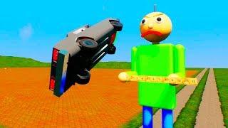 Lego Baldi Vs Lego Color Speed Cars   Brick Rigs