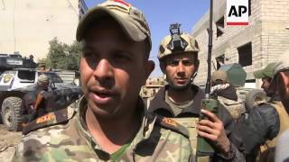 Iraqi forces fighting house to house in Mosul