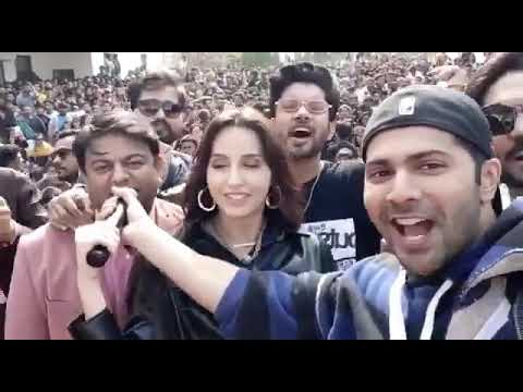 Varun Dhawan Street Dancer The Kapil Sharma Show Behind the scenes Street Dancers Team