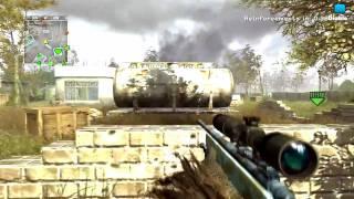 Vidéo commentée COD4 - Petite partie en QG hardcore [HD]