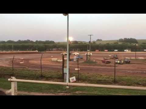 CJ KINNEER 99 Heat race win at Midway Speedway 7/27/19
