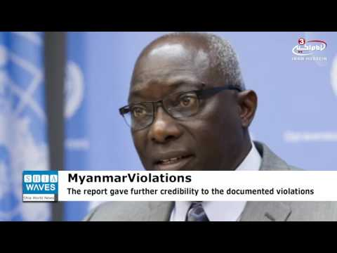 UN: Violence in Myanmar's Rakhine state could amount to crimes against humanity