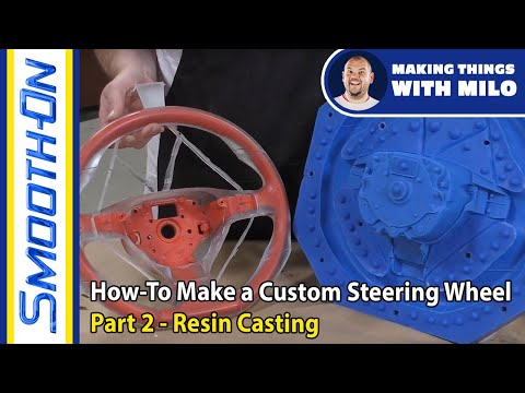 How To Make a Custom Steering Wheel: Part 2, Resin Casting