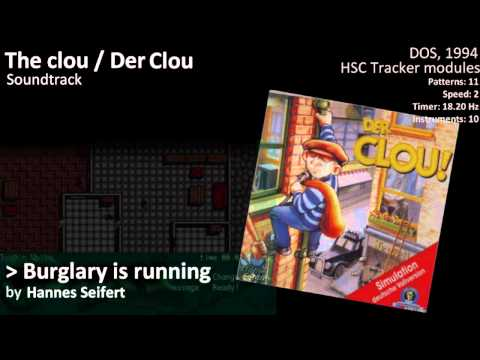 Der Clou / The Clou music - Burglary is running (1994, DOS)