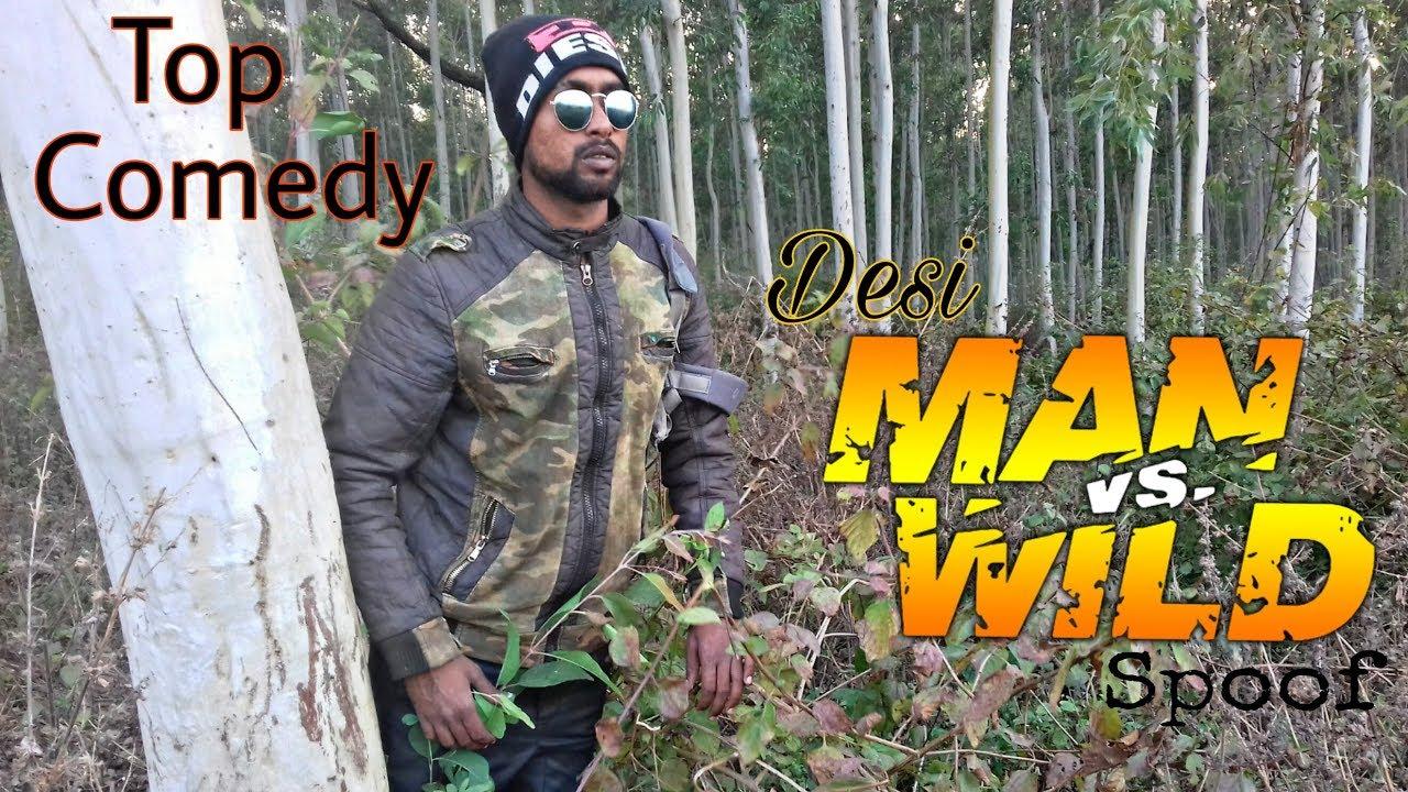Desi Man vs Wild || ROUND 2 ACT || R2A || SPOOF || Comedy Bablu