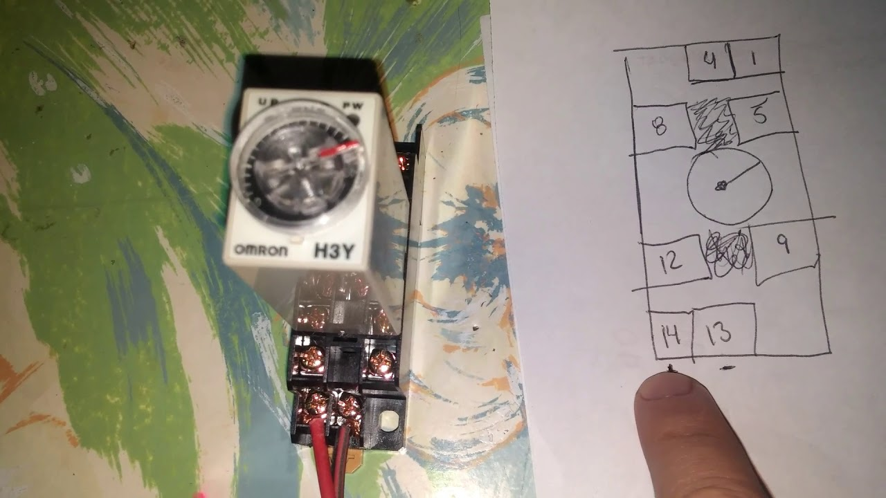 H3y Relay With Timer Wiring