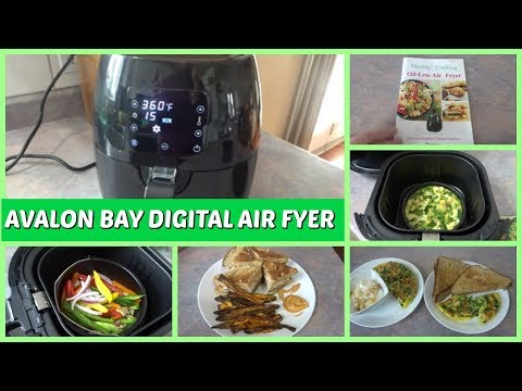 AVALON BAY AB-AIRFRYER230B DIGITAL AIR FRYER - MORE THAN JUST FRENCH FRIES