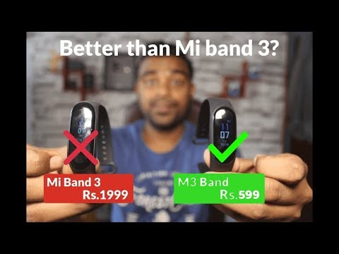 ₹599/- M3 Band - Cheap and Best SmartBand - Review & Unboxing - With Color Display & Blood Pressure!