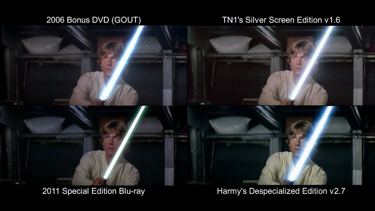 Original Lightsaber Training Star Wars 1977 Deed Blu Ray Gout Sse Youtube