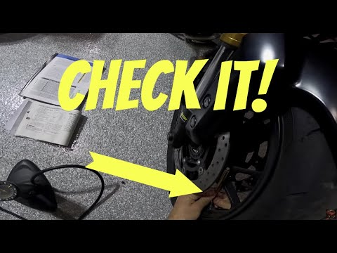 How To Check Your Tire Pressure ~ MotoJitsu