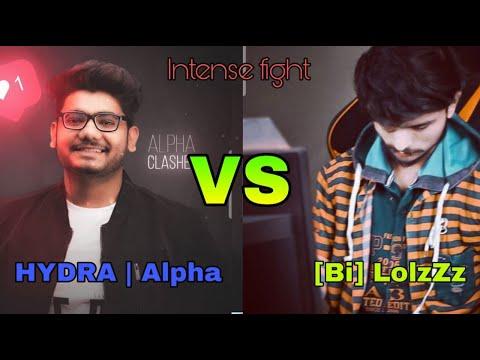 Alpha Clasher+Ayush Is Live  Vs LoLzZz Gaming + Nightfury Gaming Elite Custom Fight || Hydra Vs Bi